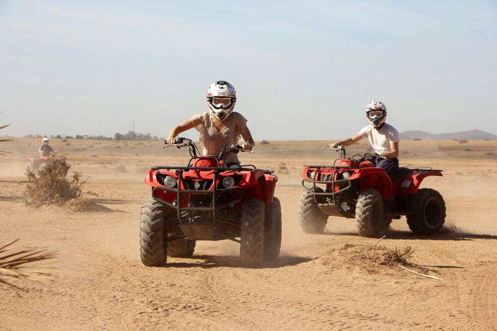 1 hours Sahara ATV Quad Biking Adventures in Merzouga desert
