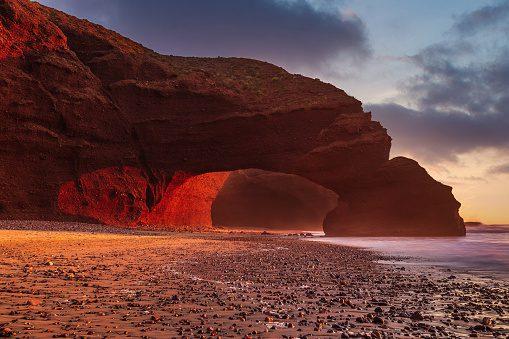 Day trip from Agadir to Legzira beach