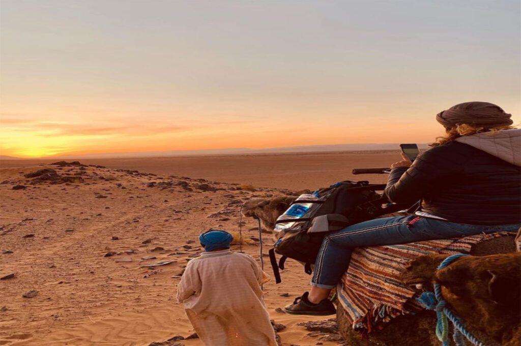 Marrakech Sunset Camel Ride in Agafay Desert