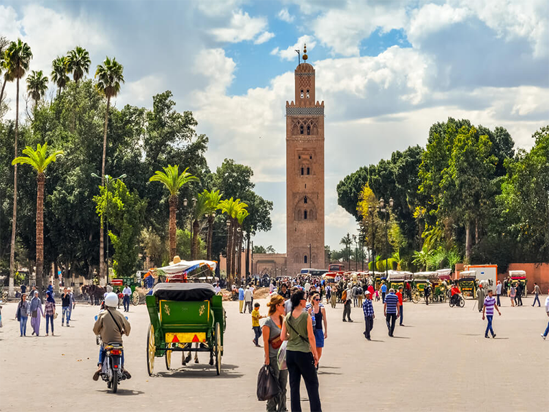 9 Days From Marrakech Via Merzouga Desert