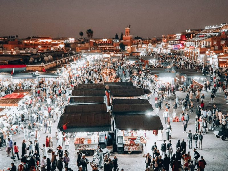 7 days desert tour Tangier to Marrakech