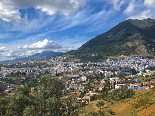one day to Chefchaouen from Fez