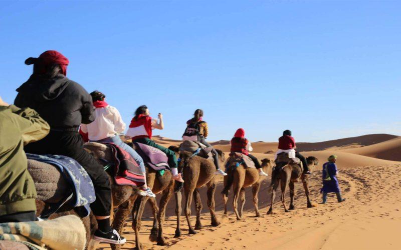 marrakech to Merzouga desert 5 days