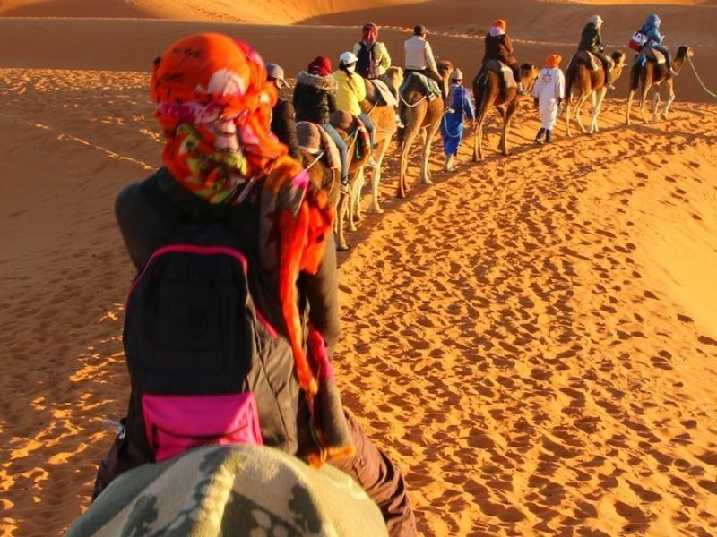 5 days Casablanca desert tours via Merzouga to Fes