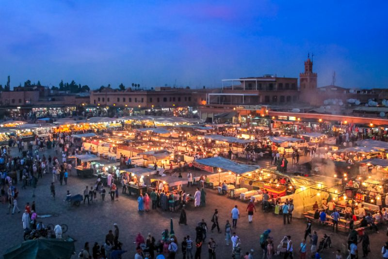 desert tour fes to Marrakech