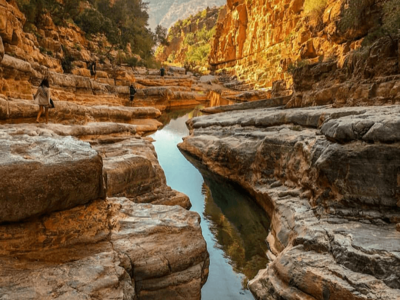 Day trip from Agadir to Paradise Valley